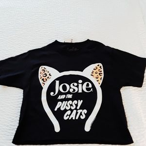 Vintage Archie Comic Josie And The Pussycats Top
